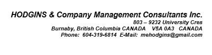 Client-Hodgins and Company Management Consultant Inc