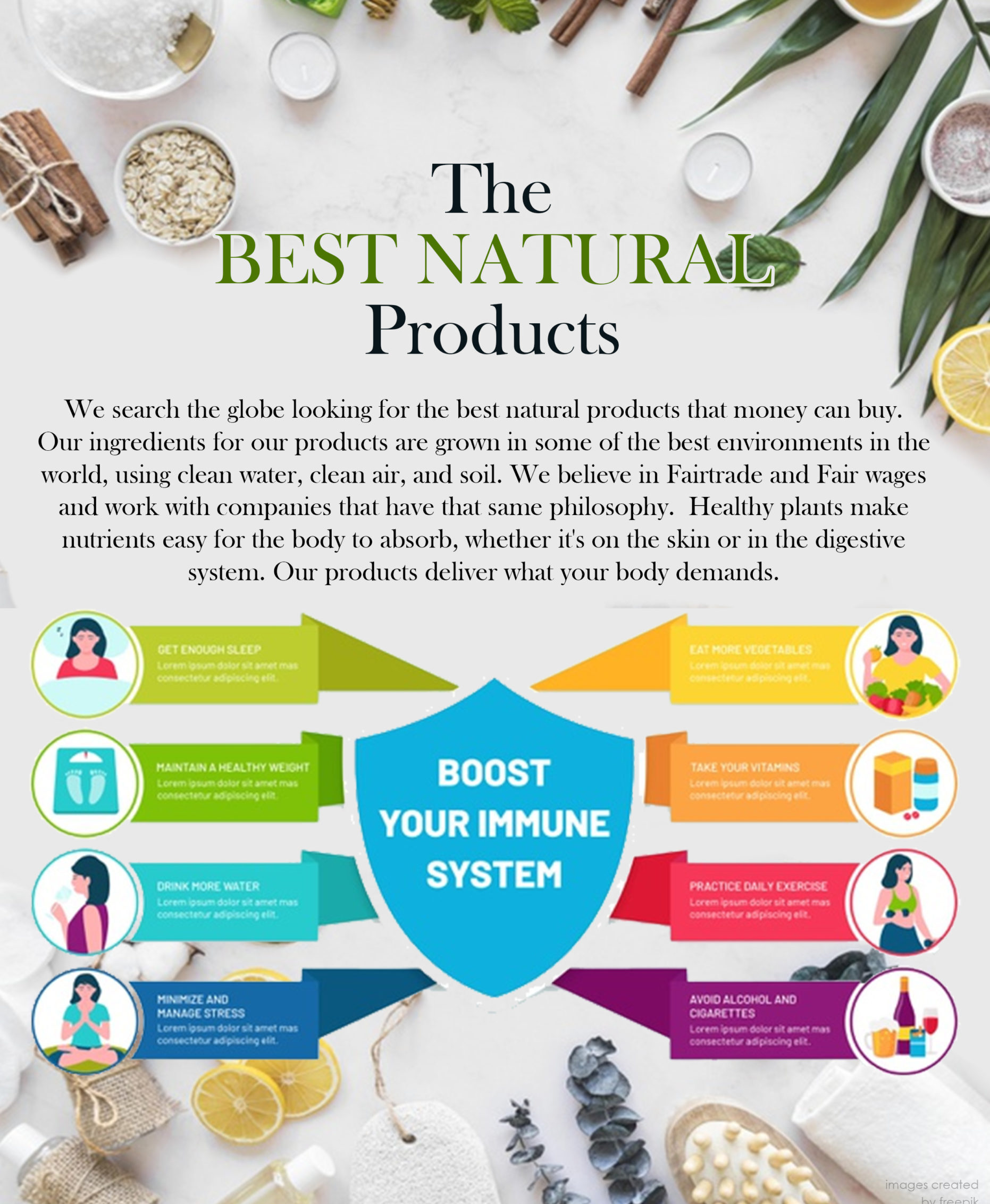 The Best Natural Products to find