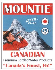 Mountie Water Logo